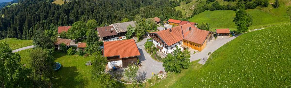 Bild von oben Simmerlhof