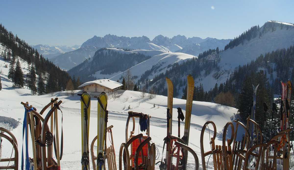 Impressionen Winter (17) Priener Hütte